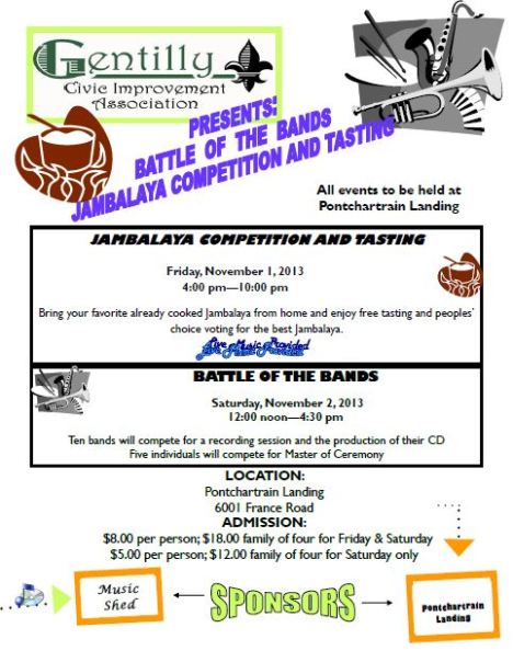 BBQ & Battle of Bands Fundraiser